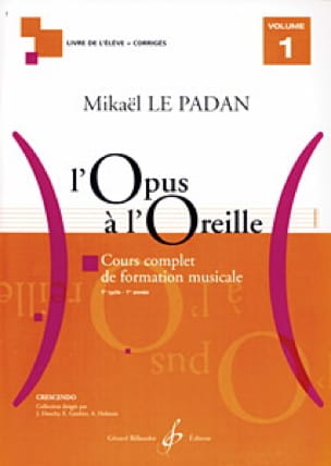 L'Opus à l'Oreille - Volume 1 - Mikaël LE PADAN - laflutedepan.com