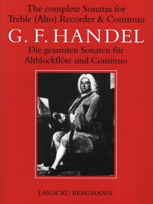 HAENDEL - Complete Sonata - Alto Recorder And Bc - Partition - di-arezzo.co.uk