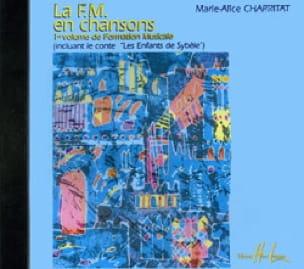 Marie-Alice Charritat - FM in songs - CD - Partition - di-arezzo.com