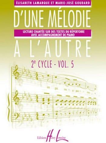 D'une mélodie à l'autre - Volume 5 - 3ème Cycle - laflutedepan.com