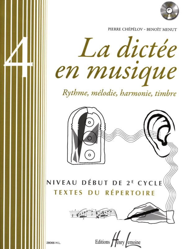 Pierre CHEPELOV et Benoit MENUT - The Dictation in Music Volume 4 - Partition - di-arezzo.co.uk