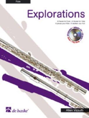 Explorations - Flute - Allen Vizzutti - Partition - laflutedepan.com
