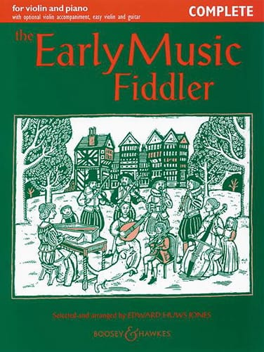 Jones Edward Huws - The Early Music Fiddler - Complete - Partition - di-arezzo.co.uk