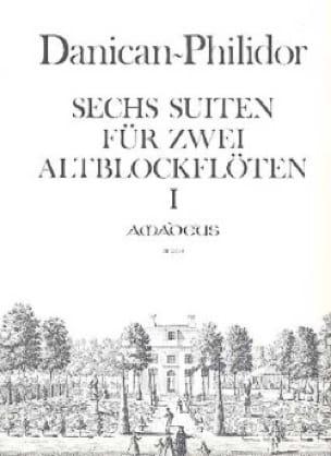 6 Suites Op.1 / 1-3 Für 2 Altblockflöten - laflutedepan.com