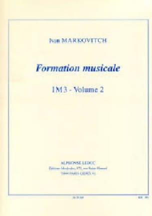 Formation musicale - IM3 - Volume 2 - laflutedepan.com