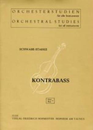 Schwabe-Starke - Orchesterstudien - Heft 9 - Kontrabass - Partition - di-arezzo.co.uk