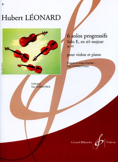 Hubert Léonard - Solo E en B bemol mayor op. 62 - Partition - di-arezzo.es