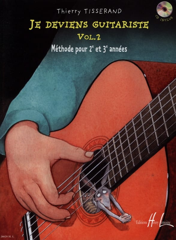 TISSERAND - I'm Guitarist Volume 2 - Partition - di-arezzo.com