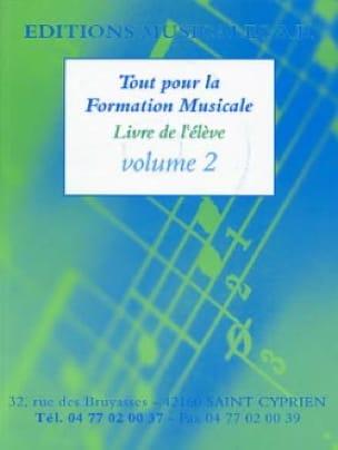 Tout pour la formation musicale,Volume 2 - AB - laflutedepan.com