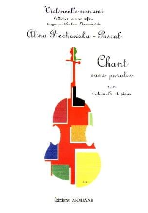 Chant sans paroles - Alina Piechowska-Pascal - laflutedepan.com