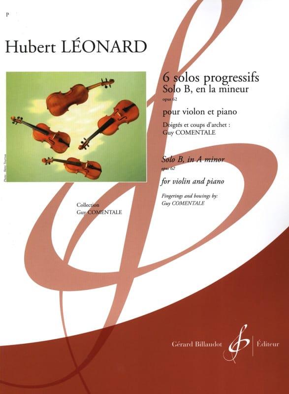 Hubert Léonard - Solo B en Op. Menor 62 - Partition - di-arezzo.es