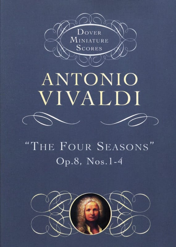 VIVALDI - The Four Seasons Op. 8 N ° 1-4 - Partition - di-arezzo.com