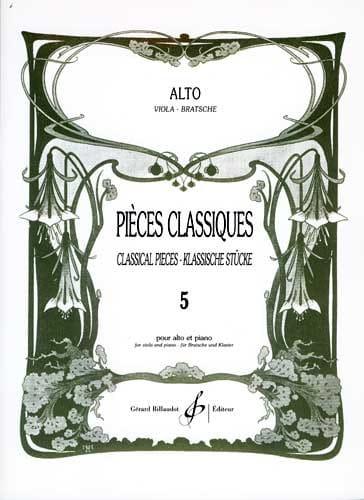 Frédéric Lainé - Classic Parts Volume 5 - Partition - di-arezzo.com