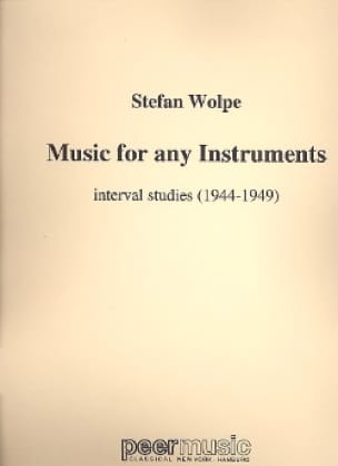 Music for any instruments - Wolpe Stefan - laflutedepan.com