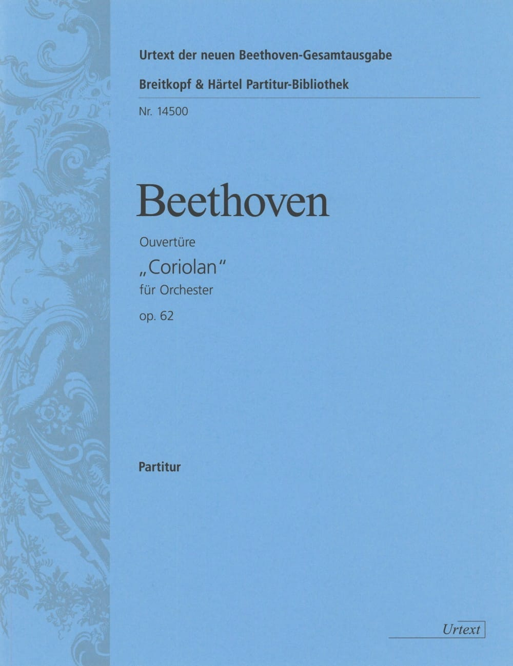 BEETHOVEN - Coriolan Opening op. 62 - Partitur - Partition - di-arezzo.co.uk