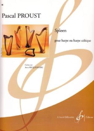 Spleen - Pascal Proust - Partition - laflutedepan.com