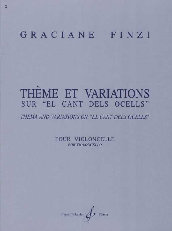 Thème et Variations sur El Cant dels Ocells - laflutedepan.com