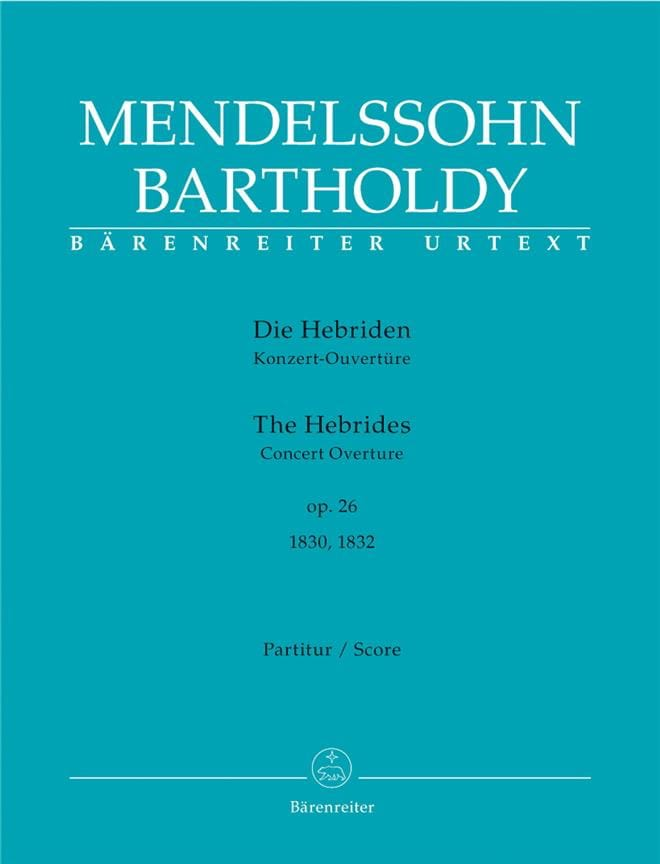 MENDELSSOHN - Die Hebriden op. 26 - Open - Partition - di-arezzo.co.uk