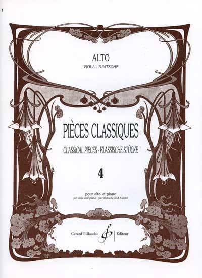 Pièces Classiques Volume 4 - Frédéric Lainé - laflutedepan.com