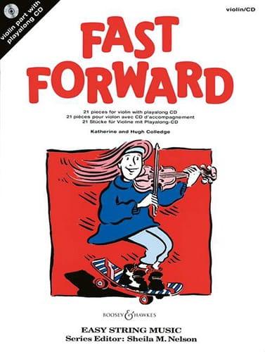 Fast Forward - Violon et CD - Partition - laflutedepan.com