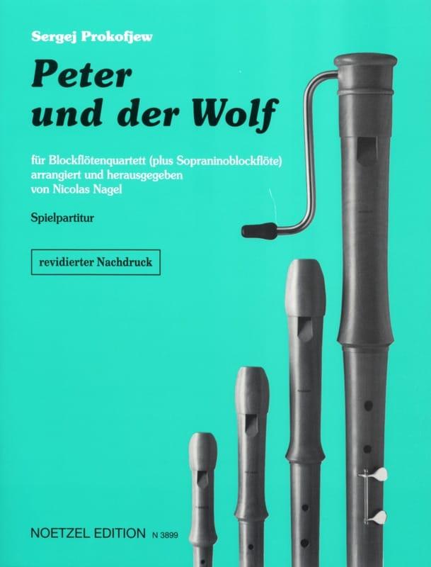 Pierre et le Loup - Ensemble de Flûtes à Bec - laflutedepan.com