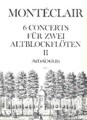 Six Concerts für 2 Altblockflöten - Bd. 2 - laflutedepan.com