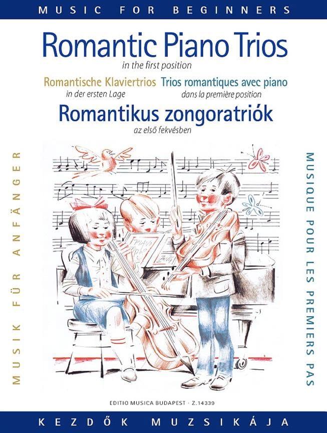 Romantic Piano Trios For Beginners - laflutedepan.com