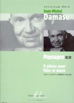 Jean-Michel Damase - Paysages - Partition - di-arezzo.fr