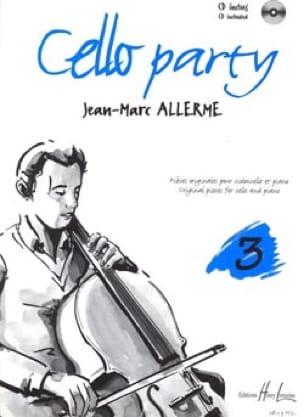 Jean-Marc Allerme - Cello Party Volumen 3 - Partition - di-arezzo.es