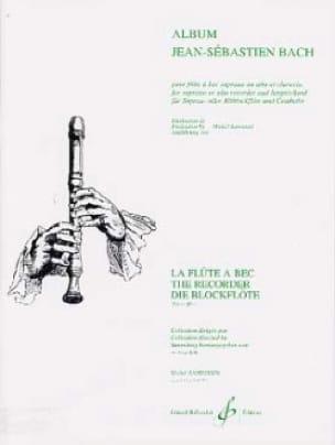 BACH - Album Johann Sebastian Bach - Partition - di-arezzo.com