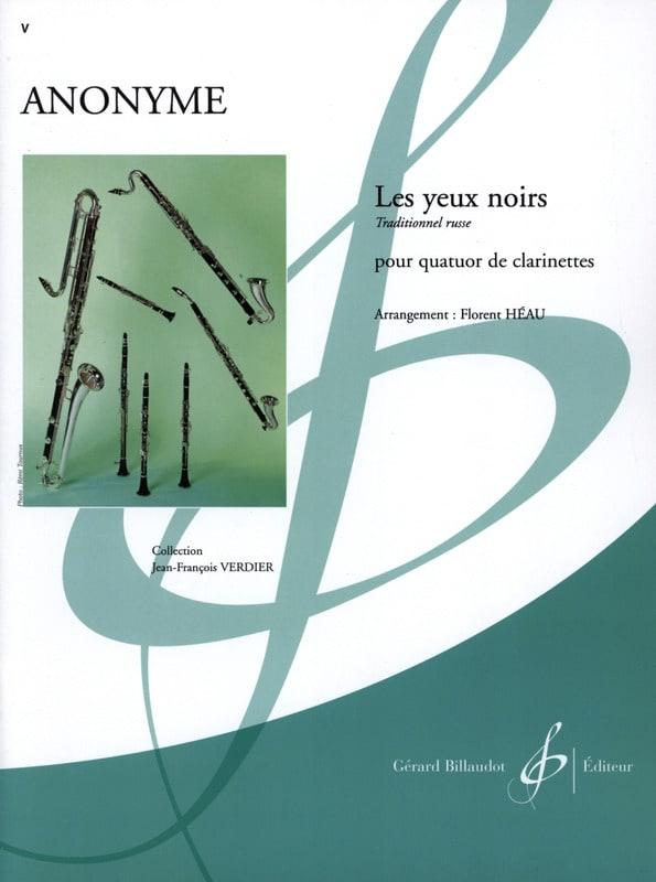 - Black eyes - clarinet quartet - Partition - di-arezzo.co.uk