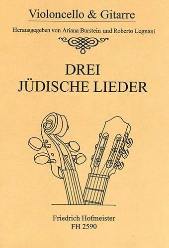 - 3 Judische Lieder - Partition - di-arezzo.co.uk