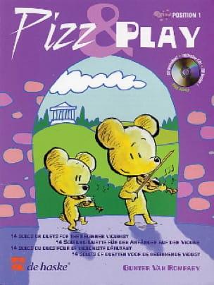 Pizz And Play - Gunter van Rompaey - Partition - laflutedepan.com