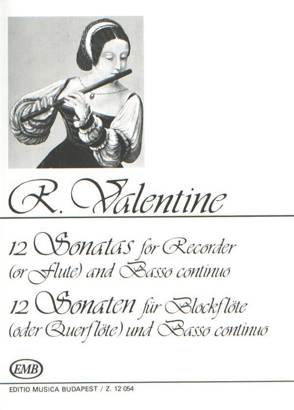 Robert Valentine - 12 Sonaten - Partition - di-arezzo.com