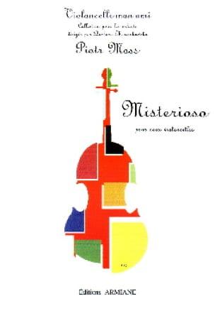 Misterioso - Piotr Moss - Partition - Violoncelle - laflutedepan.com
