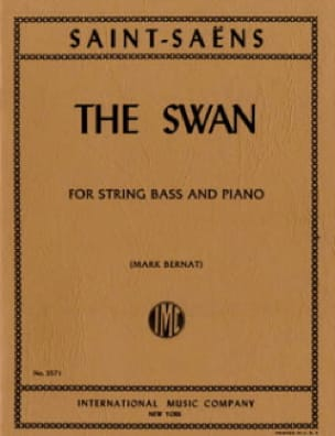 Camille Saint-Saëns - The Swan - String bass - Partition - di-arezzo.co.uk