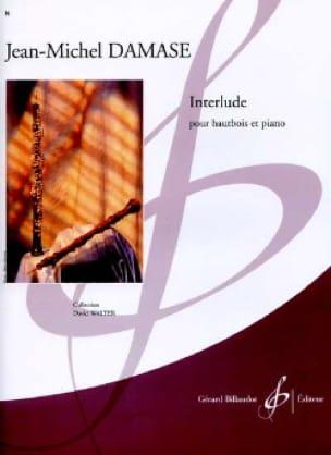 Interlude - Jean-Michel Damase - Partition - laflutedepan.com