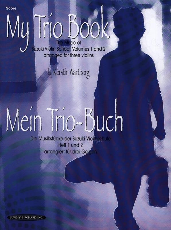 My Trio Book - Score - Kerstin Wartberg - Partition - laflutedepan.com