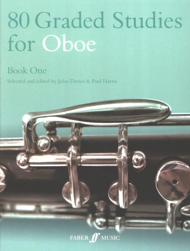 Davies John / Harris Paul - 80 Graded studies for oboe - Book 1 - Partition - di-arezzo.co.uk