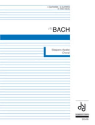 BACH - Sleepers Awake Choral from Cantata n° 140 - Partition - di-arezzo.fr