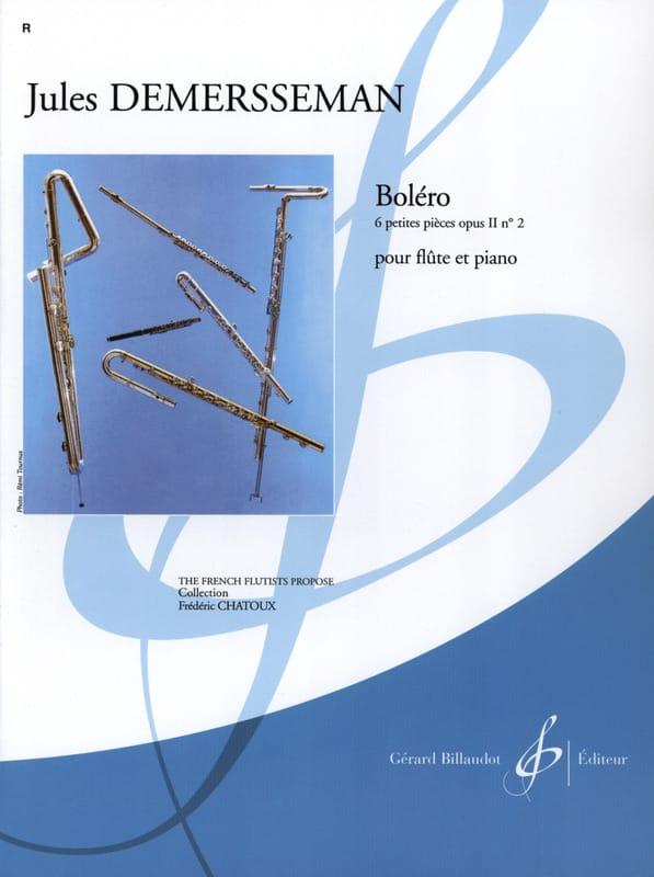 Jules Demersseman - Bolero op. 2 n ° 2 - Partition - di-arezzo.co.uk