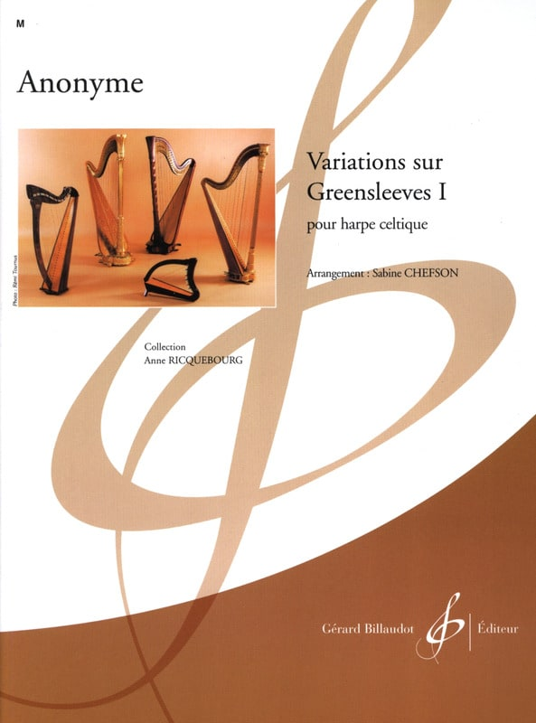 - Variations sur Greensleeves 1 - Partition - di-arezzo.fr