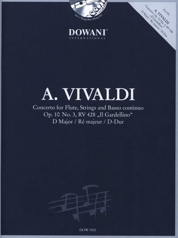 Concerto pour flûte op. 10 n° 3 - RV 428 Il Giardinello ré maj. - laflutedepan.com