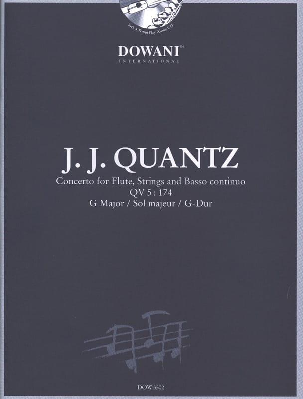Johann Joachim Quantz - Concierto para flauta QV 5: 174 sol maj. - Partition - di-arezzo.es