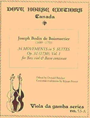 34 Movements in 5 Suites op. 31 - Volume 1 - laflutedepan.com