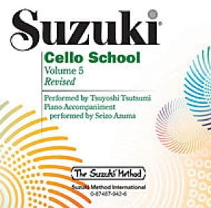 Cello School Volume 5 - CD Tsutsumi - SUZUKI - laflutedepan.com