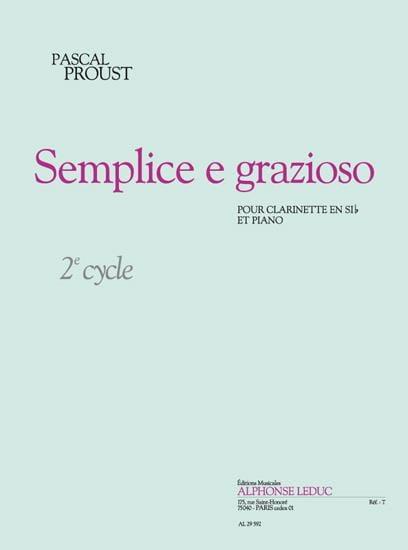 Pascal Proust - Semplice e grazioso - Partition - di-arezzo.com