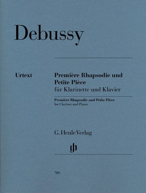 DEBUSSY - First Rhapsody and Small Room - Partition - di-arezzo.com