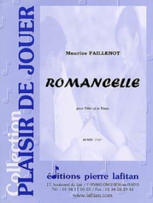 Romancelle - Maurice Faillenot - Partition - laflutedepan.com