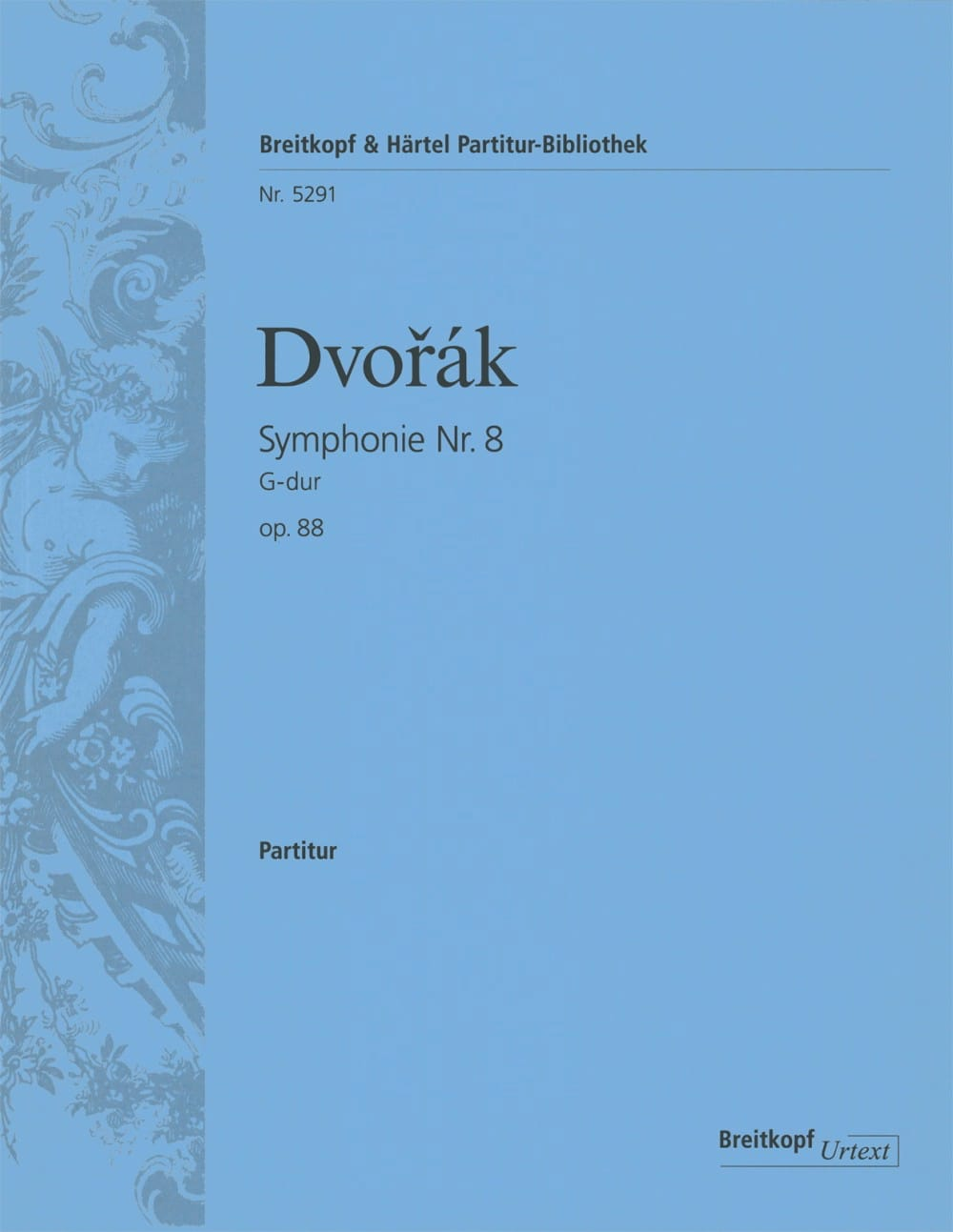 DVORAK - Symphony No. 8, Op. 88 - Partitur - Partition - di-arezzo.co.uk